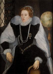 The Sieve Portrait of Queen Elizabeth I by Quentin Massys