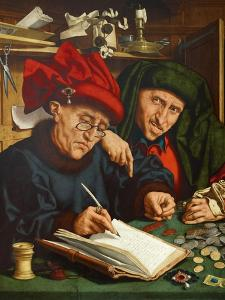 The Tax Collectors, 1520s by Quentin Massys