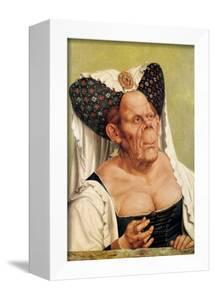 A Grotesque Old Woman, Possibly Princess Margaret of Tyrol, circa 1525-30 by Quentin Metsys