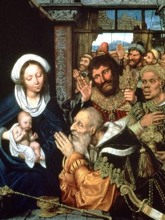 The Adoration of the Magi, 1526