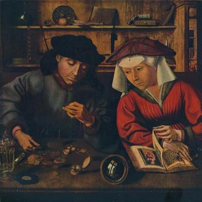 'The Moneylender and his Wife', 1514