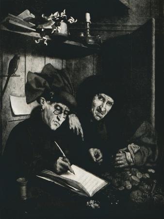 'The Moneylenders', c1515, (1912)
