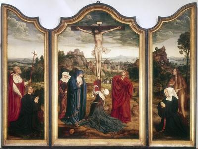 Triptych, c1486-1530. Artist: Quentin Metsys I