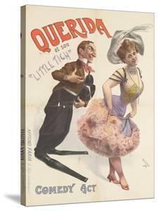 """Querida et son """"little tich"""""""