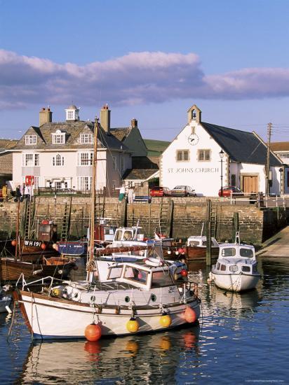 Query Weymouth Harbour, Weymouth, Dorset, England, United Kingdom-J Lightfoot-Photographic Print