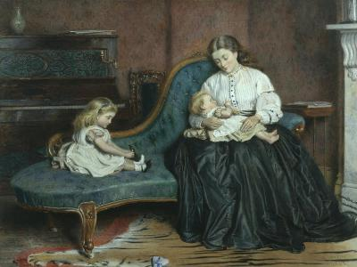 Quiet Afternoon Together-George Goodwin Kilburne-Giclee Print