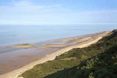 Quiet Beach Between Cromer and Overstrand, Norfolk, England, United Kingdom, Europe-Mark Sunderland-Photographic Print