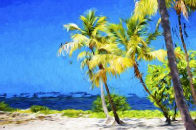 Quiet Beach II - In the Style of Oil Painting-Philippe Hugonnard-Giclee Print