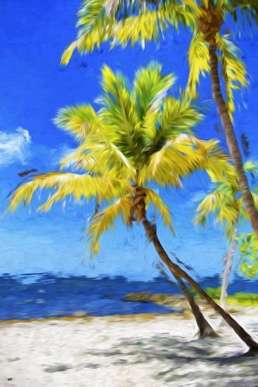 Quiet Beach - In the Style of Oil Painting-Philippe Hugonnard-Giclee Print