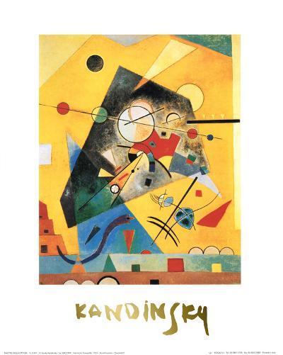 Quiet Harmony-Wassily Kandinsky-Art Print