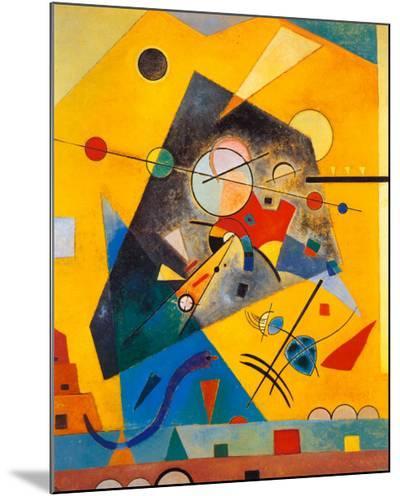 Quiet Harmony-Wassily Kandinsky-Mounted Print