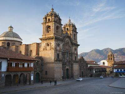 Quiet Morning Streets in Cusco-Ralph Lee Hopkins-Photographic Print