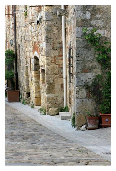 Quiet Street, Montereggioni-Igor Maloratsky-Art Print
