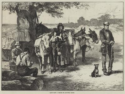 Quiet Times, a Sketch on Hampstead Heath-Edwin Buckman-Giclee Print