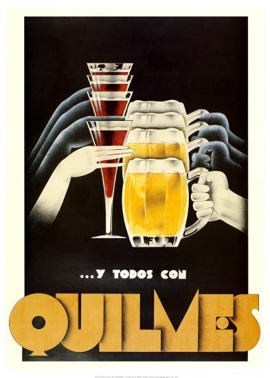 Quilmes--Art Print