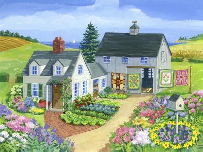 Quilt Barn-Geraldine Aikman-Giclee Print