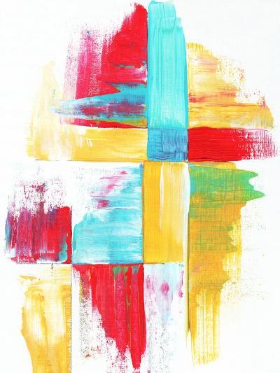 Quilt Like Pattern Abstract-Megan Aroon Duncanson-Art Print