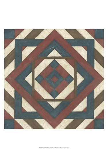 Quilt Motif IV-Erica J^ Vess-Art Print