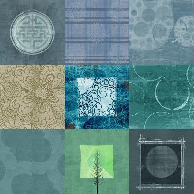 Quilt Square Collage II--Art Print
