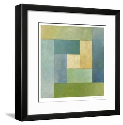 Quilted Abstract II-Megan Meagher-Framed Limited Edition