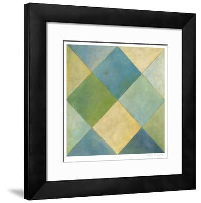 Quilted Abstract III-Megan Meagher-Framed Limited Edition