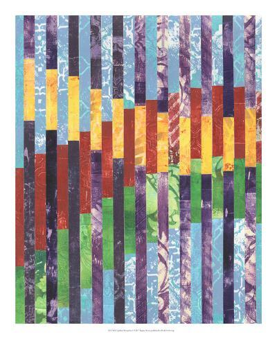 Quilted Monoprints I-Regina Moore-Art Print
