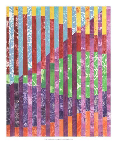 Quilted Monoprints IV-Regina Moore-Art Print