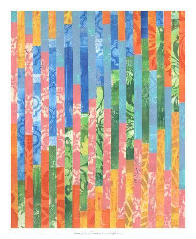 Quilted Monoprints VI-Regina Moore-Art Print