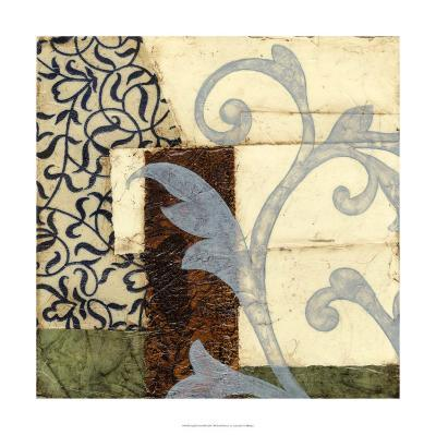 Quilted Scroll I-Jennifer Goldberger-Limited Edition