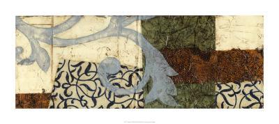 Quilted Scroll III-Jennifer Goldberger-Limited Edition