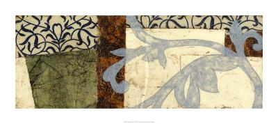 Quilted Scroll IV-Jennifer Goldberger-Limited Edition