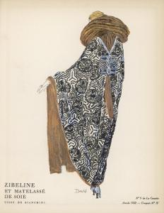 Quilted Silk Coat 1922