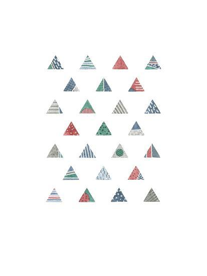 Quilted Triangles 1-Natasha Marie-Art Print