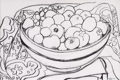 Quince in a Large Bowl, 2000-Joan Thewsey-Giclee Print