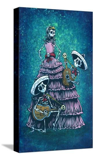 Quinceanera-David Lozeau-Stretched Canvas Print