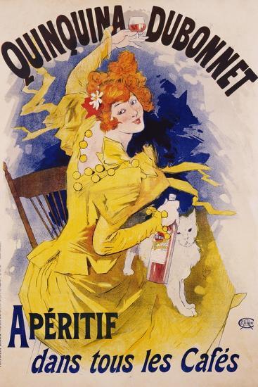 Quinquina Dubonnet Poster-Jules Ch?ret-Giclee Print