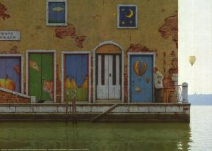 Venice, Ponte Isolato by Quint Buchholz