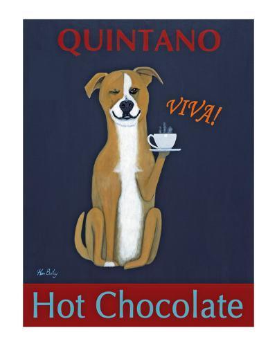 Quintano Hot Chocolate-Ken Bailey-Collectable Print