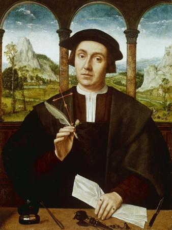 Portrait eines Notars