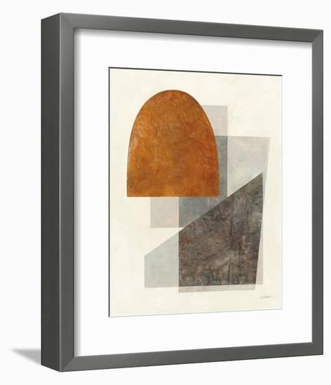 Quintet I Crop-Mike Schick-Framed Art Print