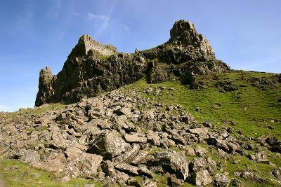 Quiraing, Isle of Skye, Highland, Scotland-Peter Thompson-Photographic Print