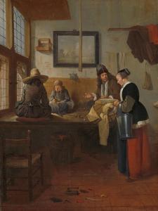 The Tailor's Workshop, 1661 by Quiringh Gerritsz. van Brekelenkam