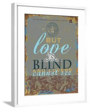 Quotable Bard IV-Ken Hurd-Framed Giclee Print