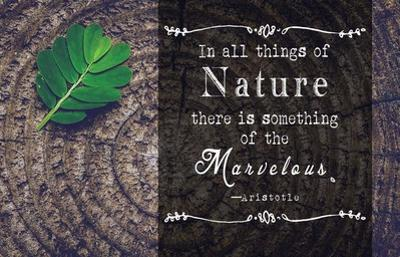 In all things of Nature