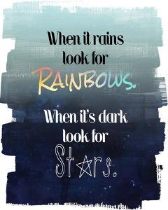 Look for Rainbows by Quote Master