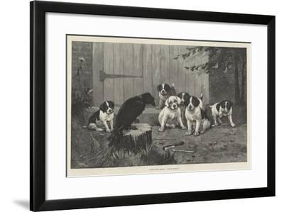 Quoth the Raven, Never More!-Stanley Berkeley-Framed Giclee Print