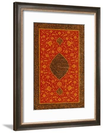 Qur'an, Persia AD 1774--Framed Giclee Print