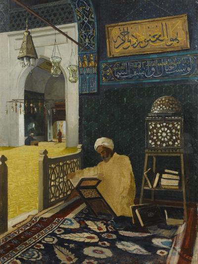 Quran Reciting-Osman Hamdi Bey-Giclee Print