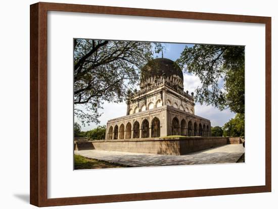 Qutab Sahi Heritage Park, Hyderabad, Andra Pradesh, India, Asia-Thomas L-Framed Photographic Print