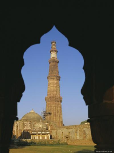 Qutb Minar, Delhi, India, Asia-Adina Tovy-Photographic Print
